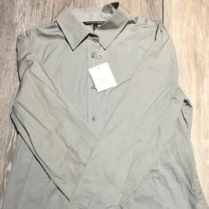 Victoria secret Gray sleepwear shirt. Size M